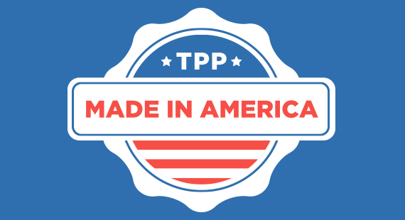 TPP made in USA
