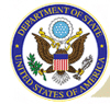 Department of State logo with a hyperlink to the Department of State website