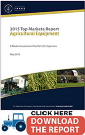 Title: Agricultural Equipment - Description: Click here to download the 2015 Top Market Report