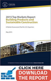 Title: Building Products and Sustainable Construction - Description: Click here to download the 2015 Top Market Report