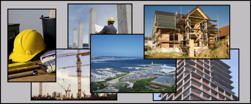 collage of architecture and engineering images