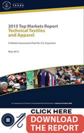 Title: Technical Textiles and Apparel - Description: Click here to download the 2015 Top Market Report