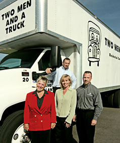 The Two Men and a Truck Family